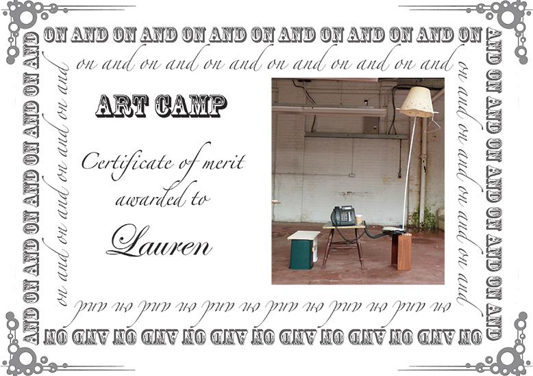 Art Camp 2012