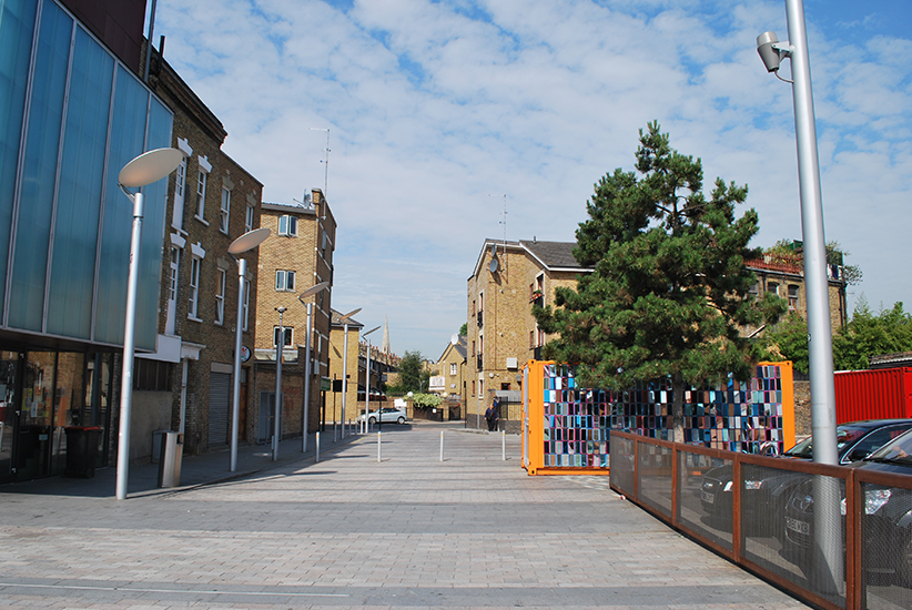 The prominent position of the square as a route to Ridley Road market showed a clear need for programming.