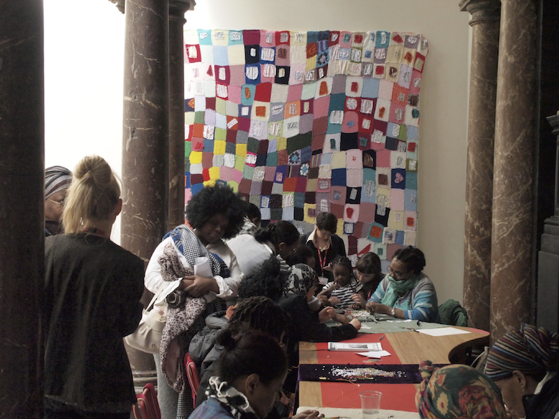 Women for Refugee Women Tapestry